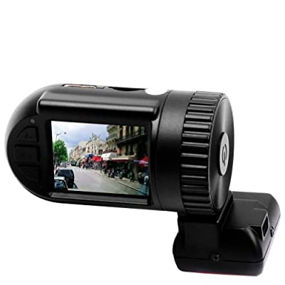 E-PRANCE® mini0806 HD 1296P Dash Cam Car DVR Vehicle Recorder with Ambarella A7LA50 Chip + 1.5¡å TFT LCD Screen + 135¡ã Wide Angle All-glass Lens + 4.0 Mega Pixel OV4689 CMOS Sensor + SOS + LDWS + HDR + G-Sensor + Motion Detection