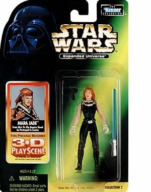 1998 Hasbro Star Wars Expanded Universe Mara Jade from Heir to the Empire Novel (Mara Jade Figure compare prices)