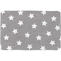 Lottas Lable 65003-10 Kinderzimmer Teppich Softie Stern Anthrazit 130 x 190 cm