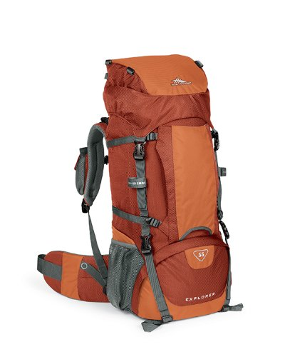 High Sierra Classic Series 59301 Explorer 55 Internal Frame Pack Auburn 30X14X8 Inches 3356 Cubic Inches 55 Liters front-331600