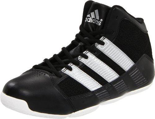 new product 21b3c 0f9f9 adidas Men s Commander TD 2 Basketball Shoe Black Metallic Silver Run White  11 M US