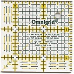 Dritz Omnigrid Quilters Ruler 2 1/2