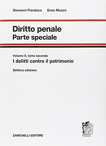 Diritto penale Parte speciale 22 PDF