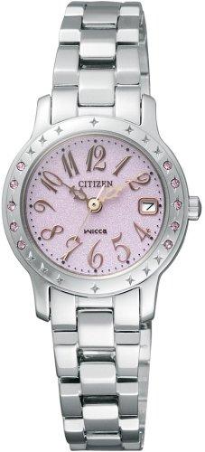 CITIZEN (シチズン) 腕時計 wicca ウィッカ Eco-Drive エコ・ドライブ プリンセスウィッカ ジェルシャワーシリーズ NA15-1481A レディース