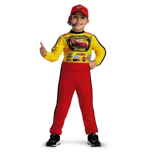 Lightning Mcqueen Pit Crew - Size: Child S(4-6)