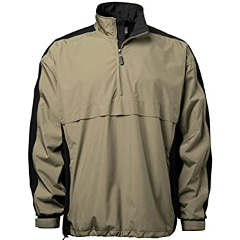 Ixspa Mens Ultra Soft Rainwear 1 2 Zip Pullover by ixspa