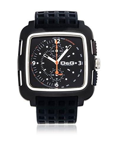 D & G Reloj de cuarzo 14678 Negro