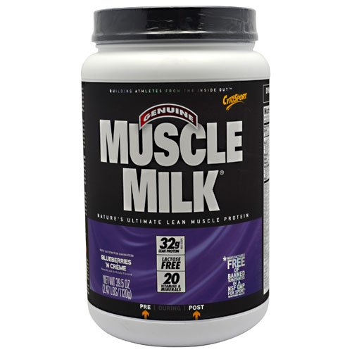 Cytosport Muscle Milk Blueberries 'N Creme - 2.47 Lbs (1120 G)