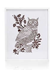 Owl Frame Wall Art
