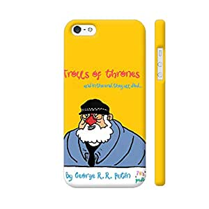 Colorpur Trolls of Thrones By George R R Putin Designer Mobile Phone Case Back Cover For Apple iPhone 5 / 5s | Artist: Noble Ahuja