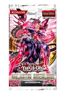 Yu-Gi-Oh Cards - Galactic Overlord - Booster Pack (9 Cards) - 1