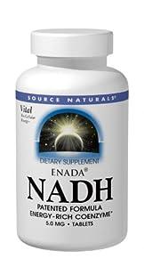 Source Naturals Enada NADH 5mg, 60 Tablets