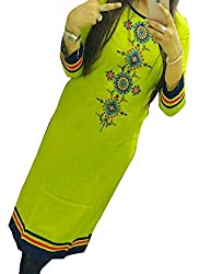 Shree Dwarikesh Fashion georgette free size kurti