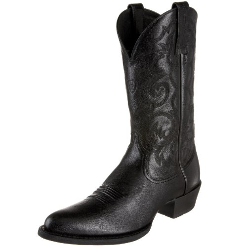 Ariat Men's Mclintock Western Boot,Black,8.5 M US
