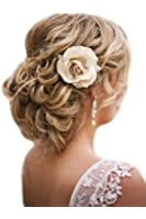 HAIR EXTENSIONS CURLY OR MESSY DRAWSTRING UPDO FULL BUN ADD BODY IN ASH BLONDE MIX