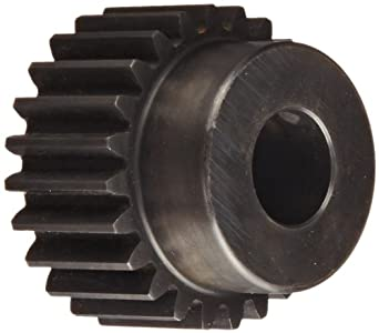 Martin Spur Gear, 20° Pressure Angle, High Carbon Steel, Inch, 12 Pitch