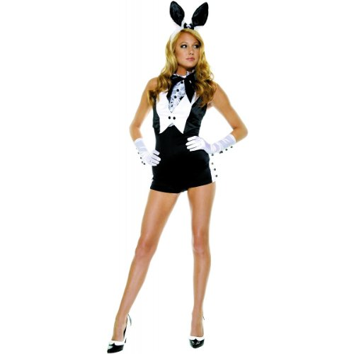 Costumes For All Occasions OR559205ML Medium-Large Bunny Plush Adult