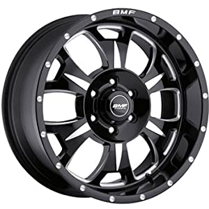 BMF Wheels M-80 Death Metal Black - 20 x 9 Inch Wheel