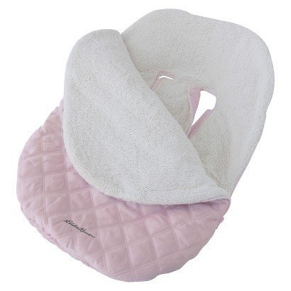 Eddie Bauer Pink Baby Bundle Blanket for Car Seat or Stroller - 1
