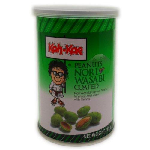 koh-kae-snack-peanut-nori-wasabi-flavour-coated-115g-406-oz-x-4-cans