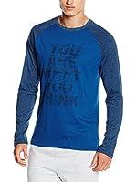 CMP Campagnolo Camiseta Manga Larga 3S47657 (Azul)