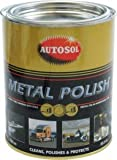 Clarik Granville Autosol Paste 750Ml Tin 0402 Brilliant Chrome Aluminium Metal Polish