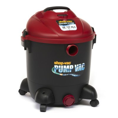 Shop-Vac 9603200 12-Gallon 5.0 Peak HP Wet Dry Vacuum with Built in Pump (Water Shop Vac compare prices)