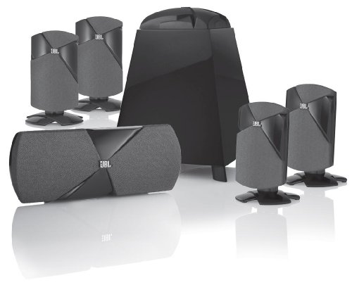 JBL Cinema 500 5.1 Speaker System (Black)