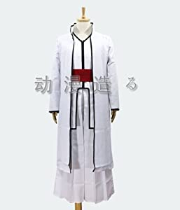 Aizen Sousuke Robe Cosplay Bleach Halloween Costume Set