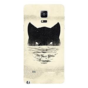 Back Cover for Samsung Galaxy Note 4 ABSTRACT BLUE