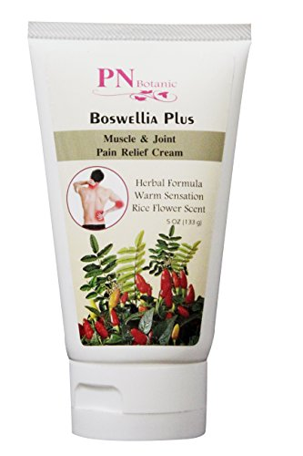 Best Price! PN Botanic Boswellia Plus Joint Pain Relief Cream 5 oz