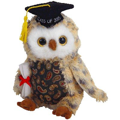 Ty Beanie Babies Smarty - Owl (Ty Store Exclusive)
