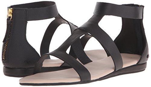 Lacoste Women's Atalaye 116 1 Gladiator Sandal, Black, 9 M US