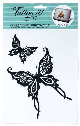 Butterfly Stickers - Tattoo It Laptop Stickers