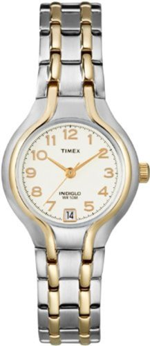 Timex Women's T27191 Elevated Classics Dress Sport Chic Two-Tone Bracelet Watch