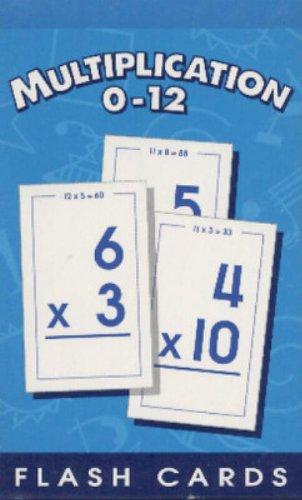 Multiplication 0-12 Flash Cards - School Zone Publishing Company Staff