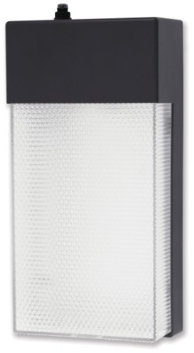 Good Earth Lighting G8313-BZ-I Basic Dusk to Dawn Security Wall Fixture, 13W (4100K), Bronze