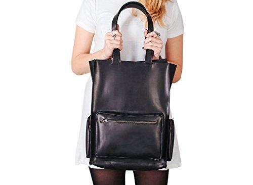 tragetasche-handtasche-schultertasche-ledertasche-fur-frauen-laptoptasche-black
