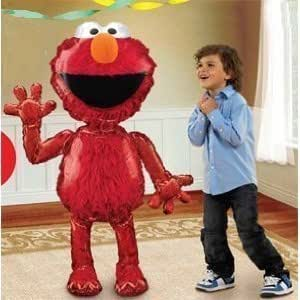 Party Destination 161263 Elmo Jumbo Airwalker Balloon