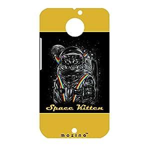 Mozine Space Kitten printed mobile back cover for Motorola Moto X 2nd gen