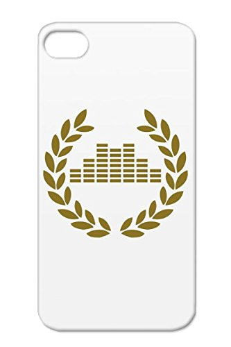 Tpu Brown Tear-Resistant Musique Beatbox Musikk Musik Sound Symbols Dj Muzyka Boom Musiikki Shapes Equalizer Audio Music Beat Musica Muziek For Iphone 4S Deluxe Cover Case