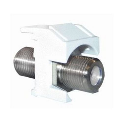 On-Q / Legrand WP3481-LA Recessed Nickel Standard F-Connector, Light Almond