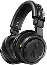 Philips A5PRO/00 DJ Headphones (3500mW RMS, Sensitivity: 105dB, Cable up to 4.7m, Gold-Plated) Including Replaceable Ear Cushions and Innovative Folding Mechanism Black