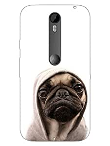Moto X Style Back Cover - Thug Life - Pug - For Dog Lovers - Designer Printed Hard Shell Case