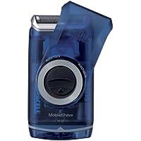 Braun MobileShave M-60b Shaver with Smart Foil (Transparent Blue)