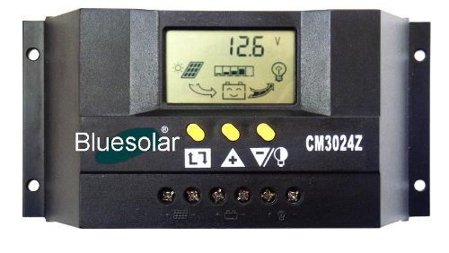30A LCD 12V 24V Solar Controller Regulator Charge Battery Power