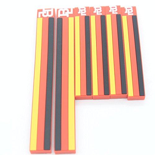 6x dongzhen 3d adesivo per auto paraurti Sticker Linea Porta di protezione Auto Corpo Adesivo Moda Bandiera nazionale finestra sicuro per auto 6tipi
