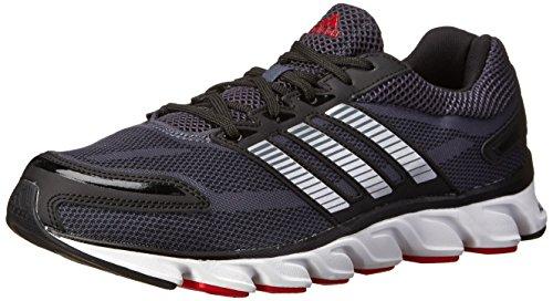 adidas Performance Men's Powerblaze M Running Shoe, Bold Onix/Silver/Scarlet, 10.5 M US