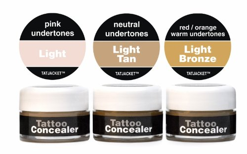 Tatjacket Premium Tattoo Concealer Blender Pack 1