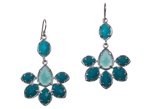 Nickel-Free Silver, Blue and Green